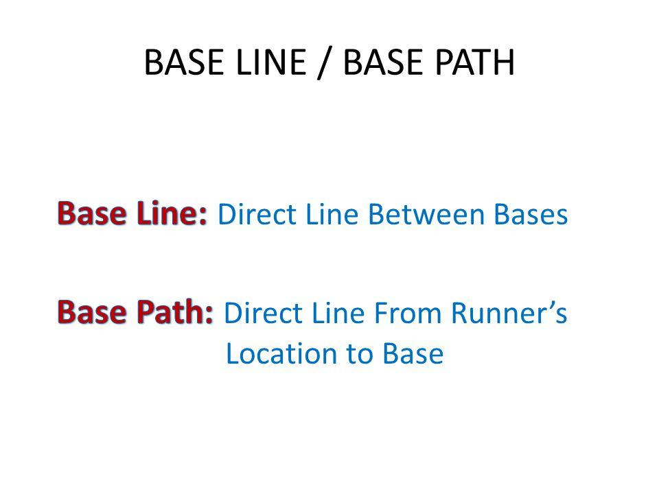 BASE LINE / BASE PATH