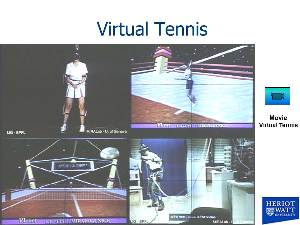 Virtual Tennis Movie Virtual Tennis