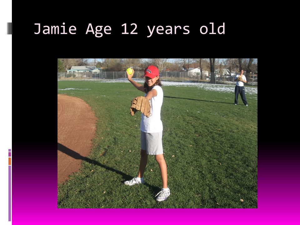 Jamie Age 12 years old