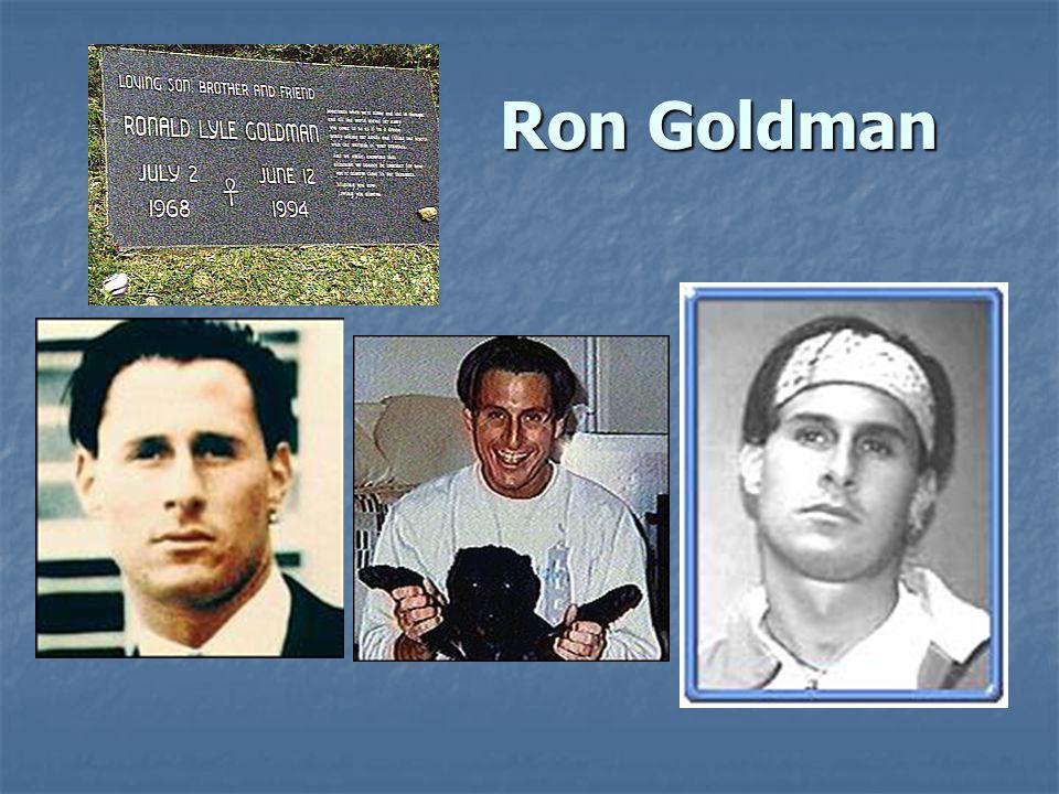 Ron Goldman Ron Goldman