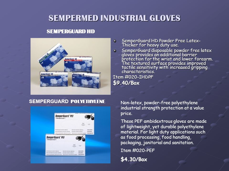 Do I Need Medical or Industrial Gloves? Spina Dental is asked this question all the time. Or more importantly, what is the difference to the average g