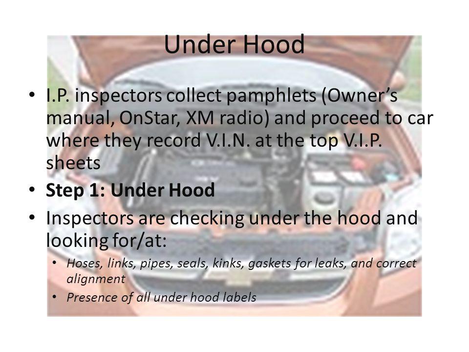 Chevrolet Aveo Work Instruction
