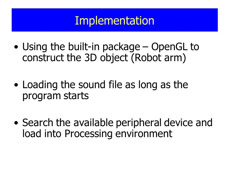 Rotate the robot arm or its joints by using keyboard.