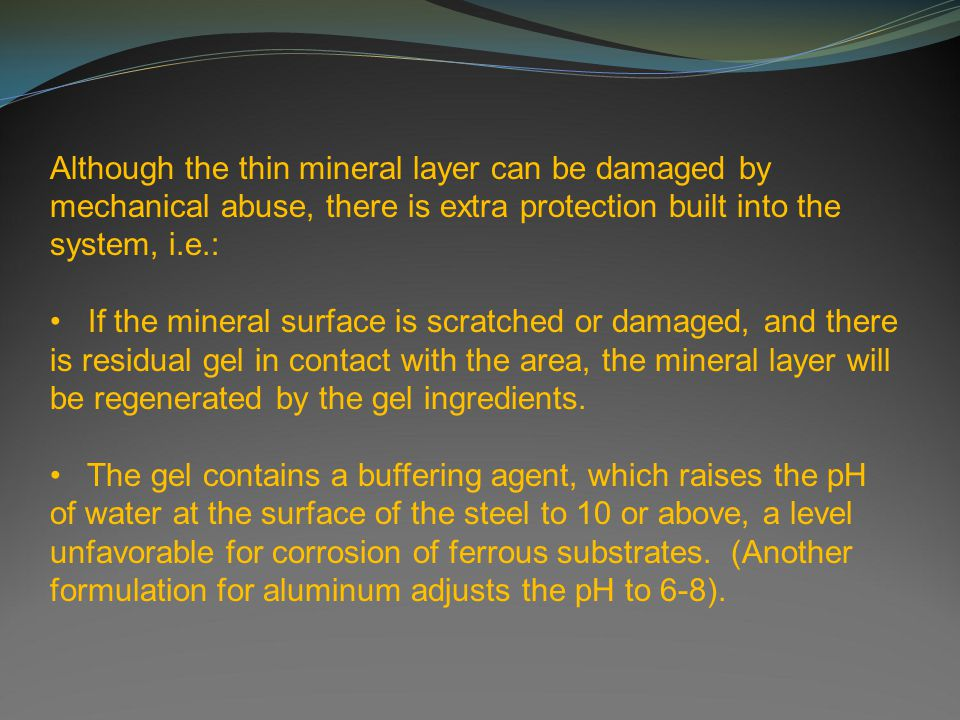 Surface Formation Untreated steel surfaceMineralized steel surface 10 um