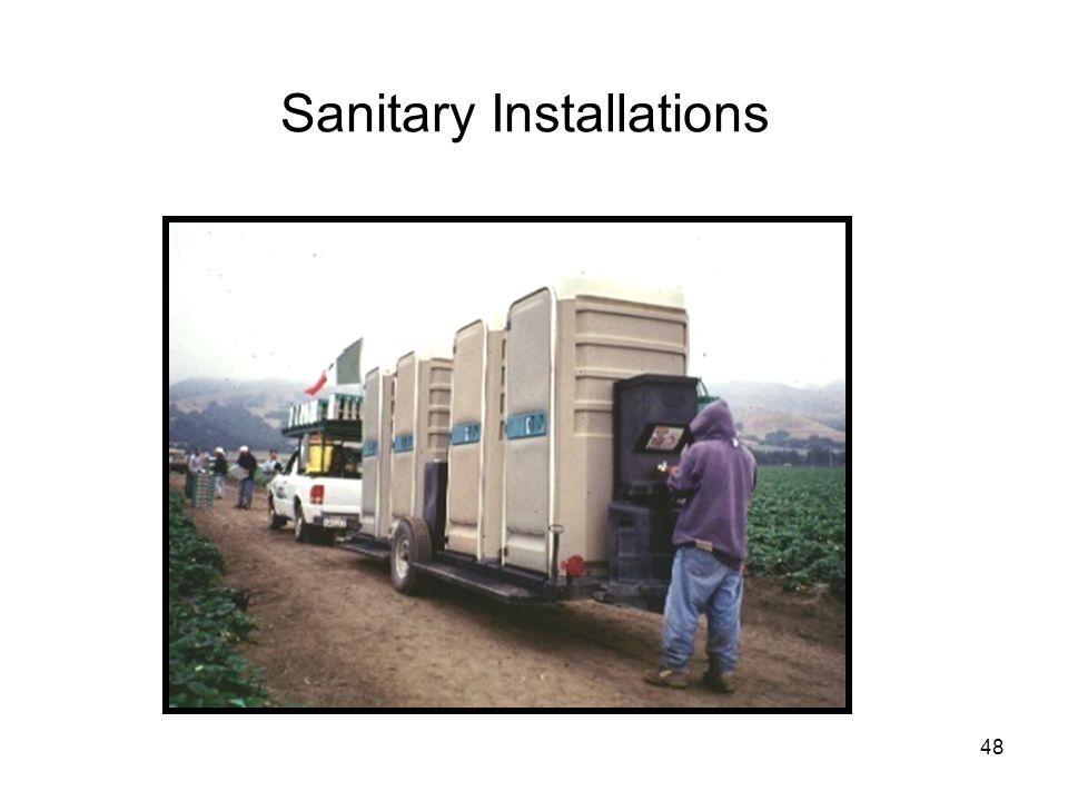 Sanitary Installations 48
