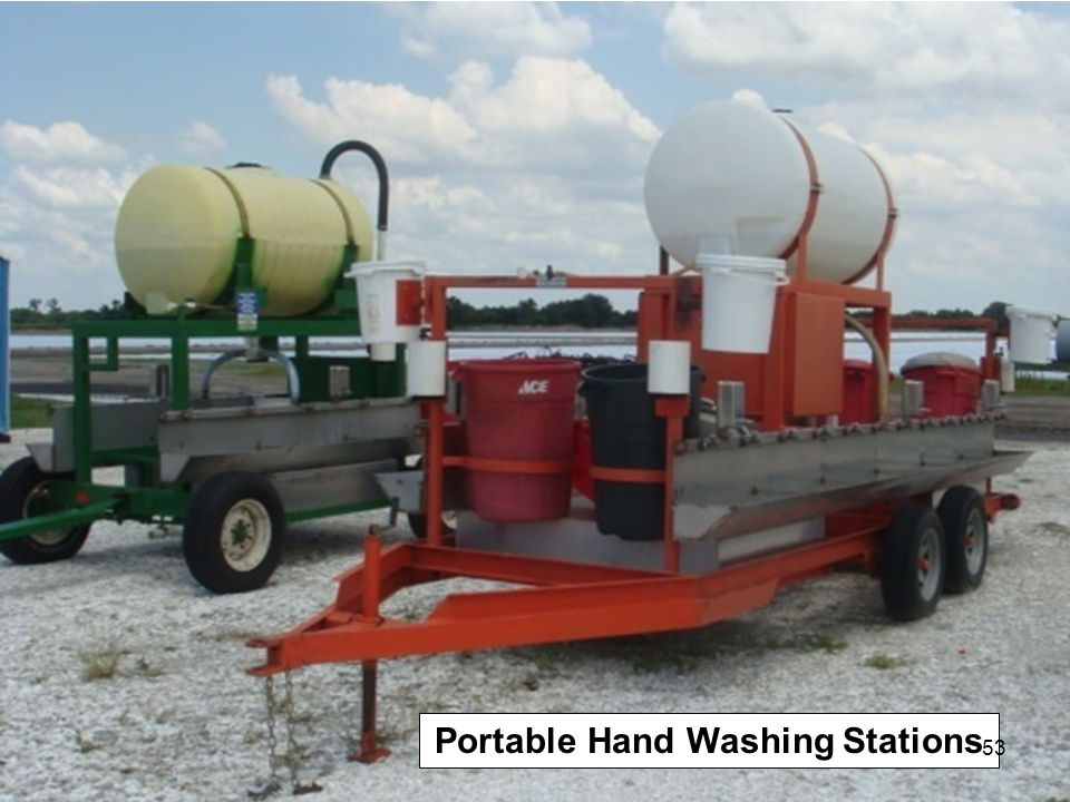 Portable Hand Washing Stations 53
