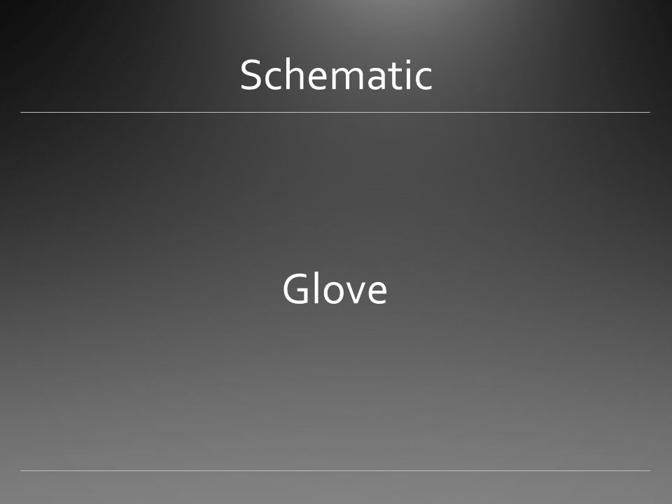 Schematic Glove