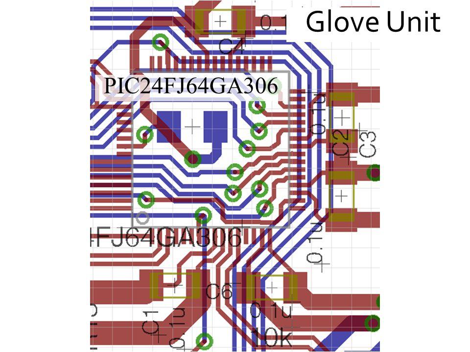 Glove Unit PIC24FJ64GA306