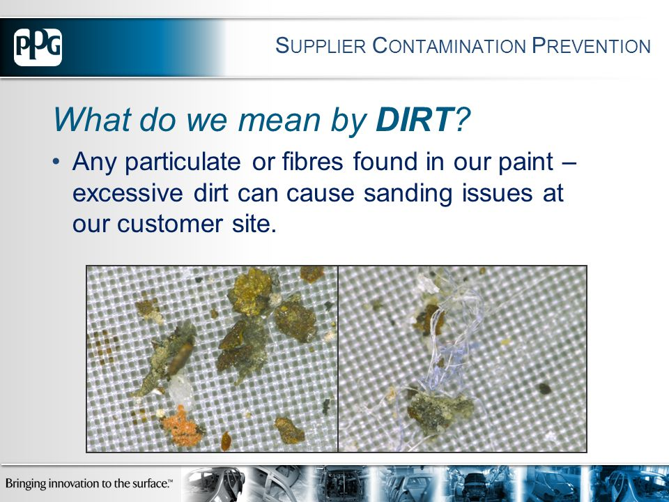 What do we mean by DIRT.