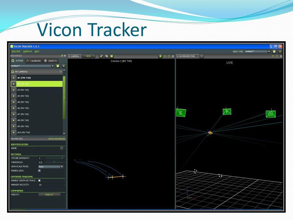 Vicon Tracker