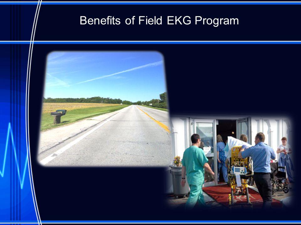 Benefits of Field EKG Program