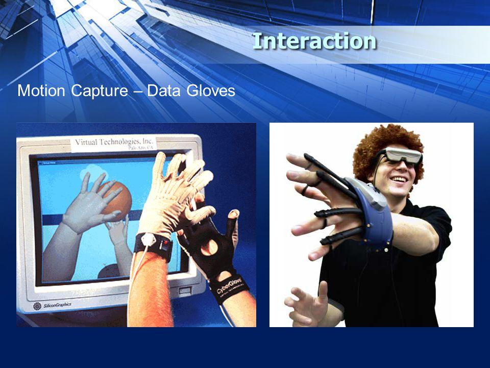 Interaction Motion Capture – Data Gloves