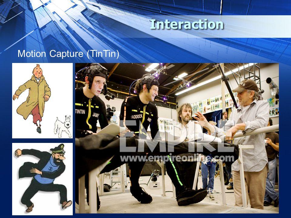 Interaction Motion Capture (TinTin)