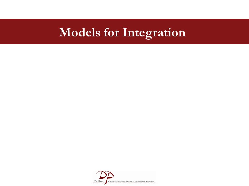 Models for Integration