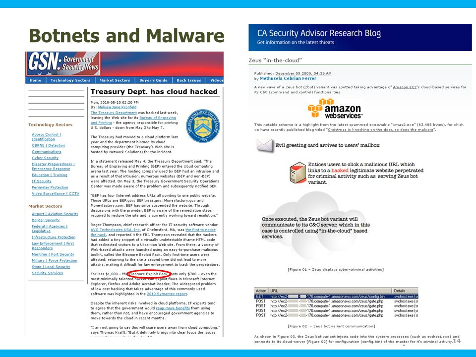 Ohio Information Security Forum Botnets and Malware 14
