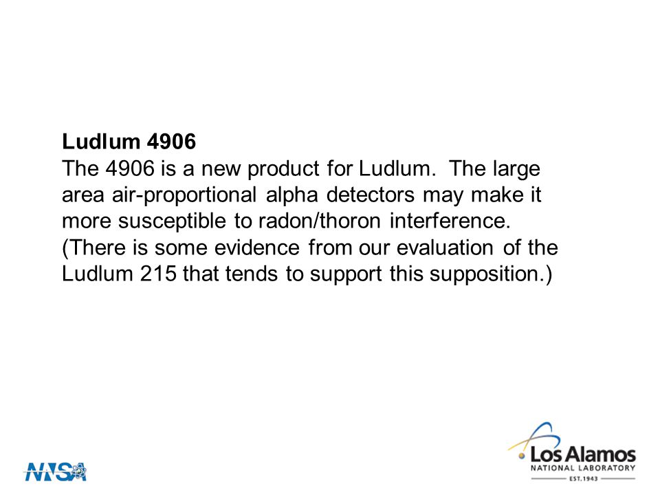 Ludlum 4906 The 4906 is a new product for Ludlum.