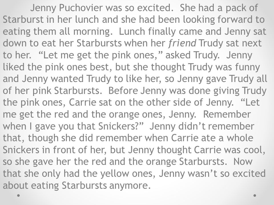 Jenny Puchovier was so excited.