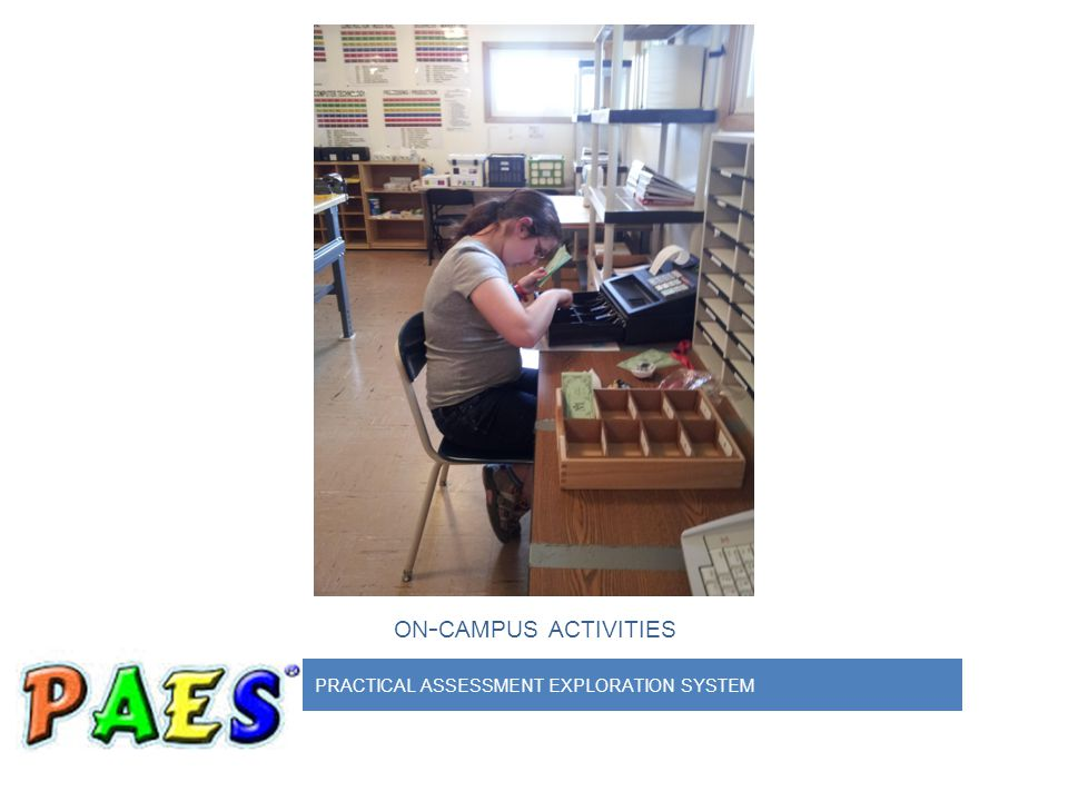 PRACTICAL ASSESSMENT EXPLORATION SYSTEM ON - CAMPUS ACTIVITIES