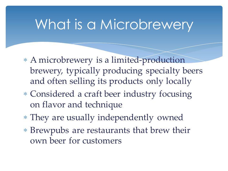  Micro distillery is described as a small boutique like distillery.