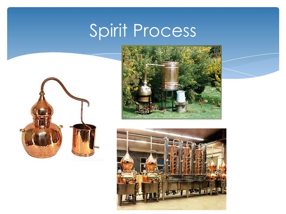 Inspection  Barrels  Used for aging spirits should be white oak can be charred  Aging time is determined by law and operator  Stored in a clean dry location  Pest control