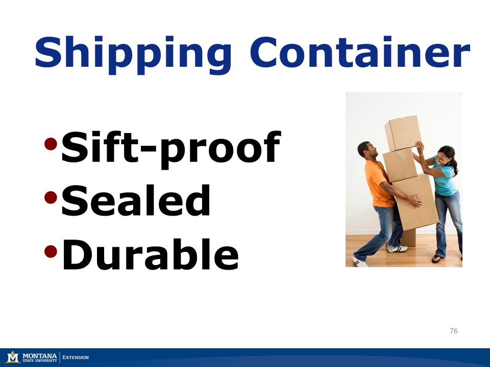 76 Shipping Container Sift-proof Sealed Durable