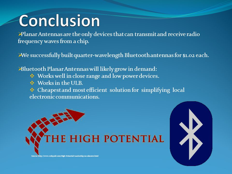  Planar Antennas are the only devices that can transmit and receive radio frequency waves from a chip.