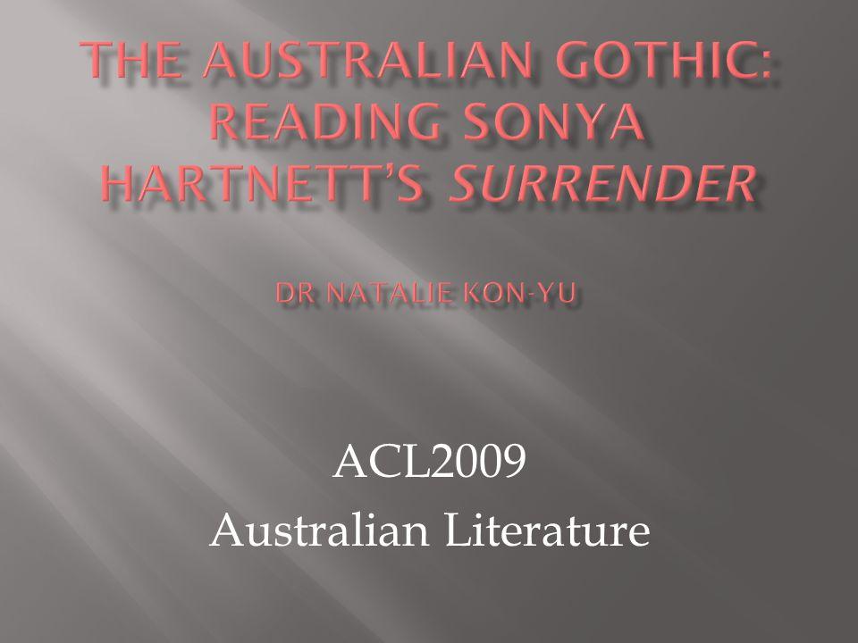 ACL2009 Australian Literature
