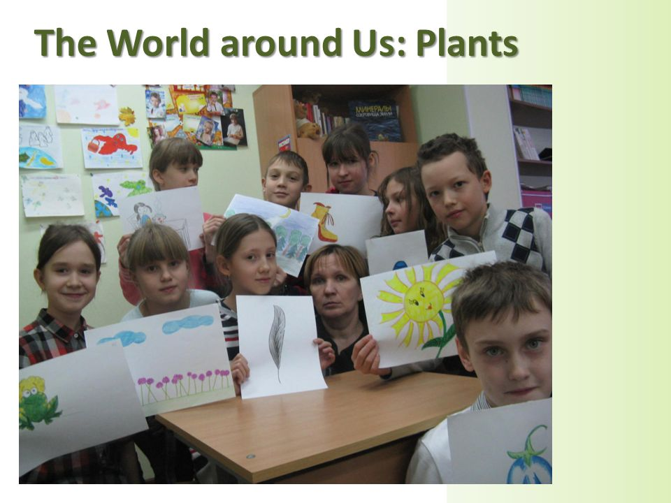 The World around Us: Plants