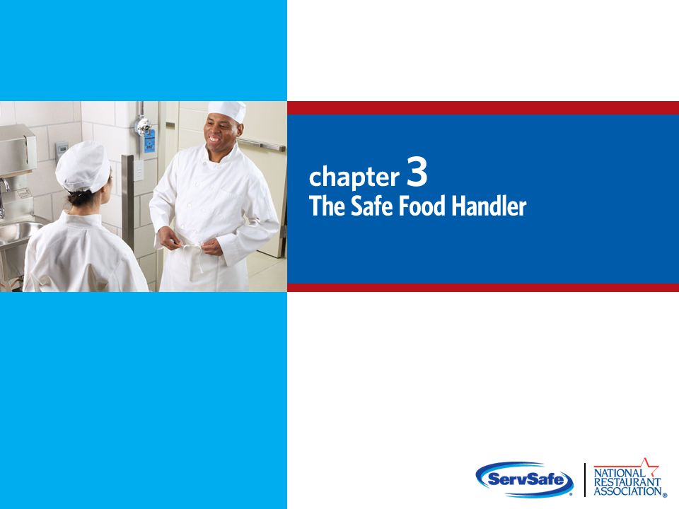 How Food Handlers Can Contaminate Food Food handlers can contaminate food when they: Have a foodborne illness Have wounds that contain a pathogen Sneeze or cough Have contact with a person who is sick Touch anything that may contaminate their hands and do not wash them Have symptoms such as diarrhea, vomiting, or jaundice—a yellowing of the eyes or skin 3-2