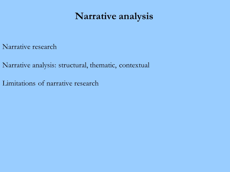 Why is narrative research so popular.