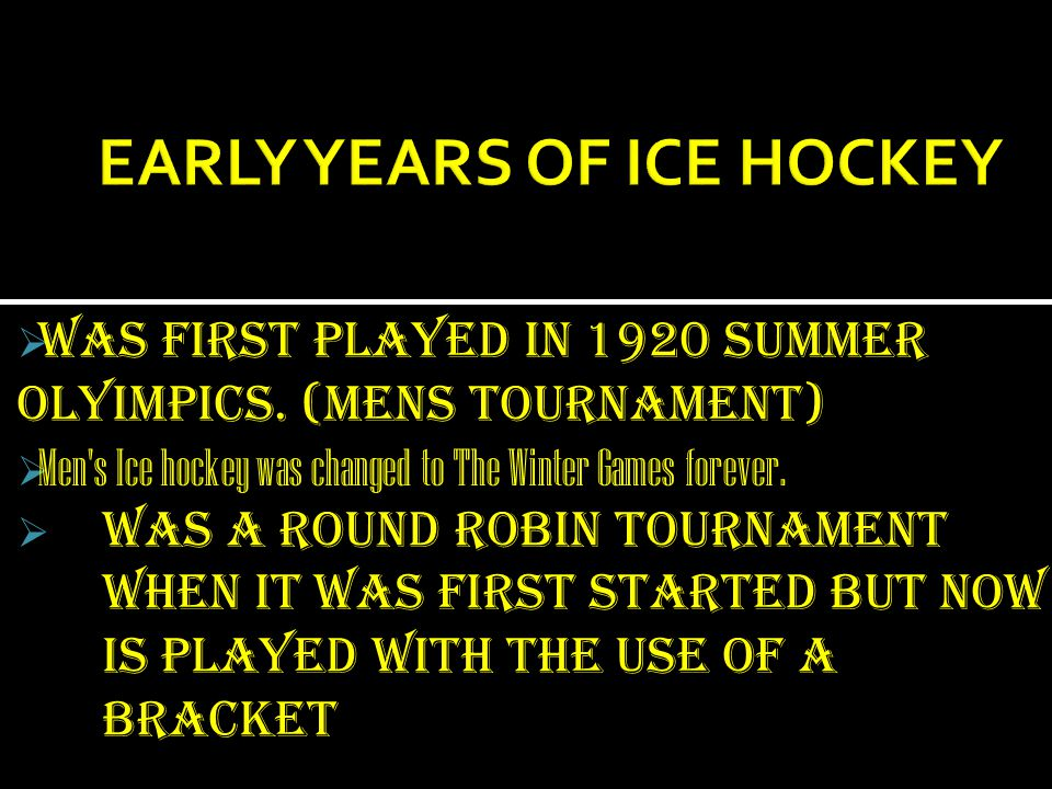 The NHL (National Hockey League) started as the NHA (National Hockey Association).