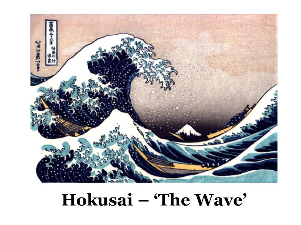 Hokusai – 'The Wave'