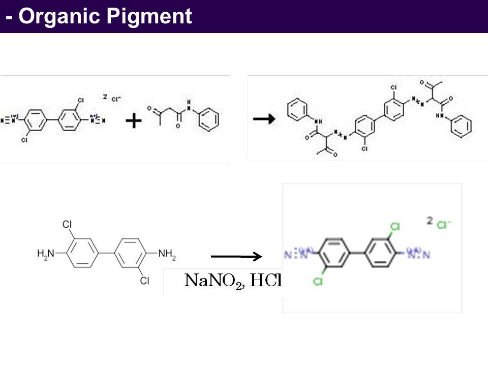 - Organic Pigment