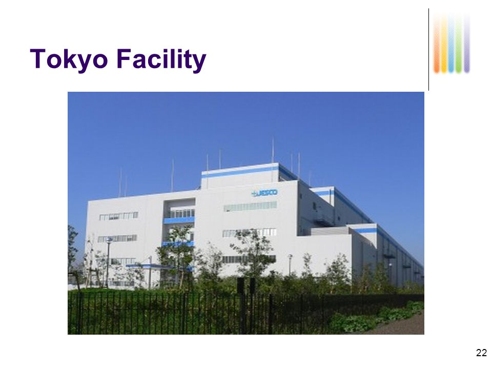 22 Tokyo Facility