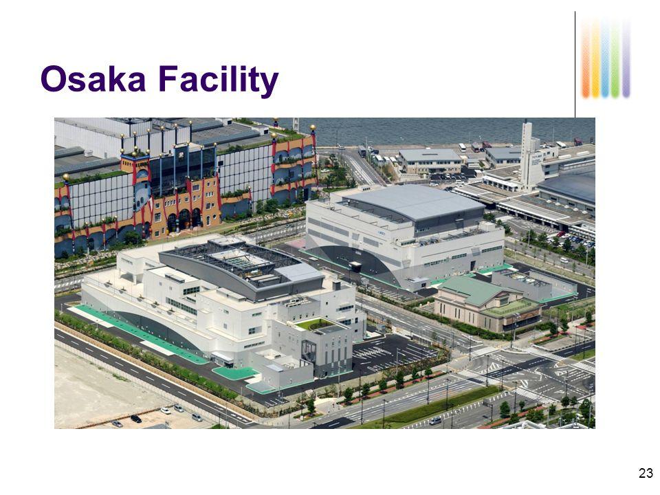 23 Osaka Facility