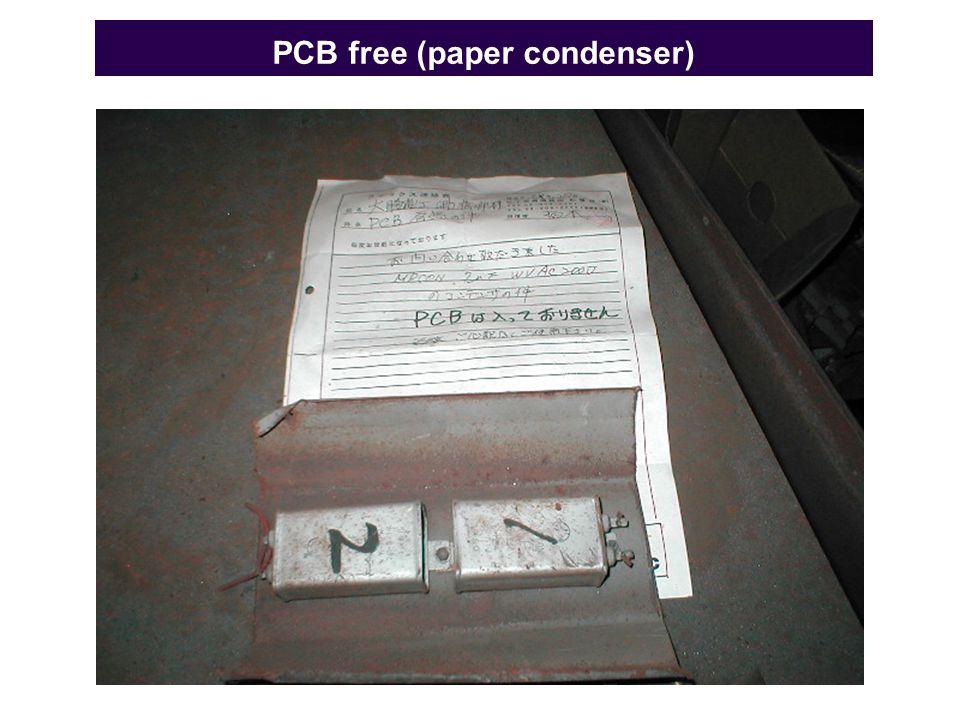 PCB free (paper condenser)