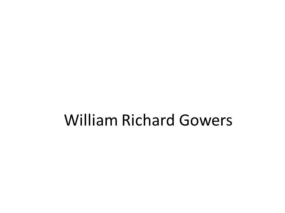 William Richard Gowers