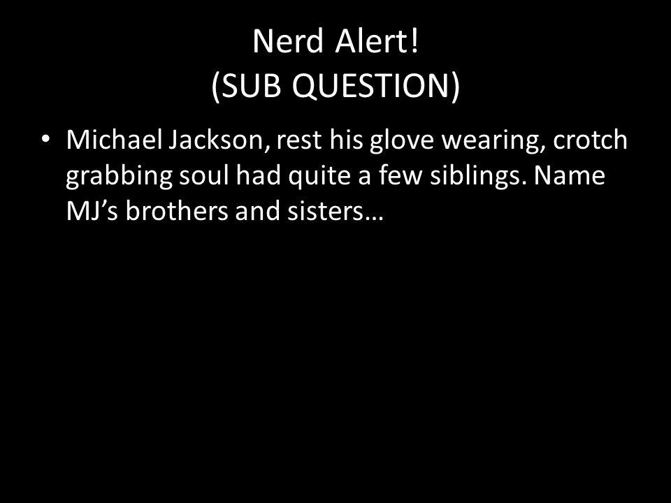 Nerd Alert.