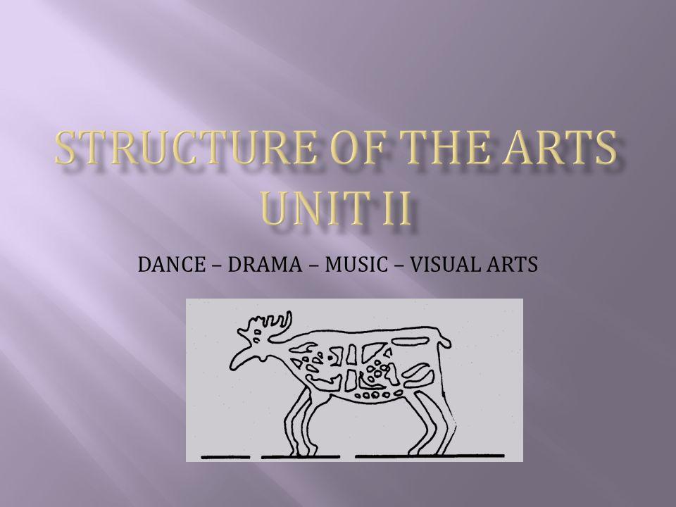 DANCE – DRAMA – MUSIC – VISUAL ARTS