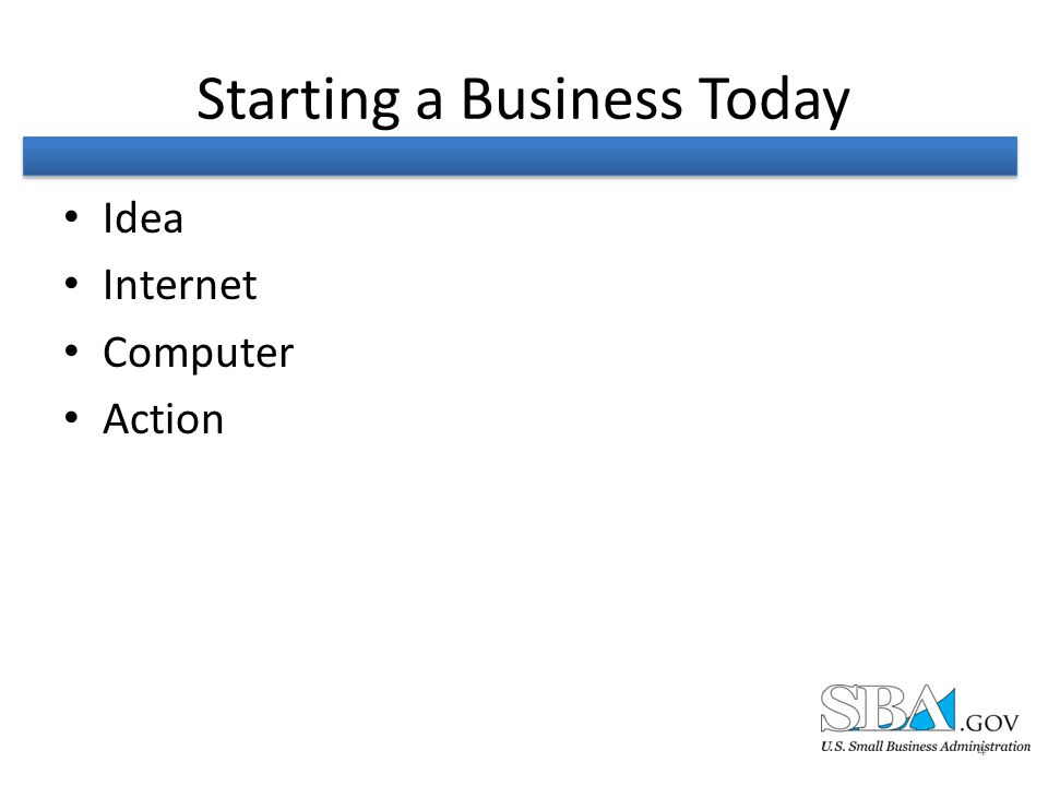 Starting a Business Today Idea Internet Computer Action 4