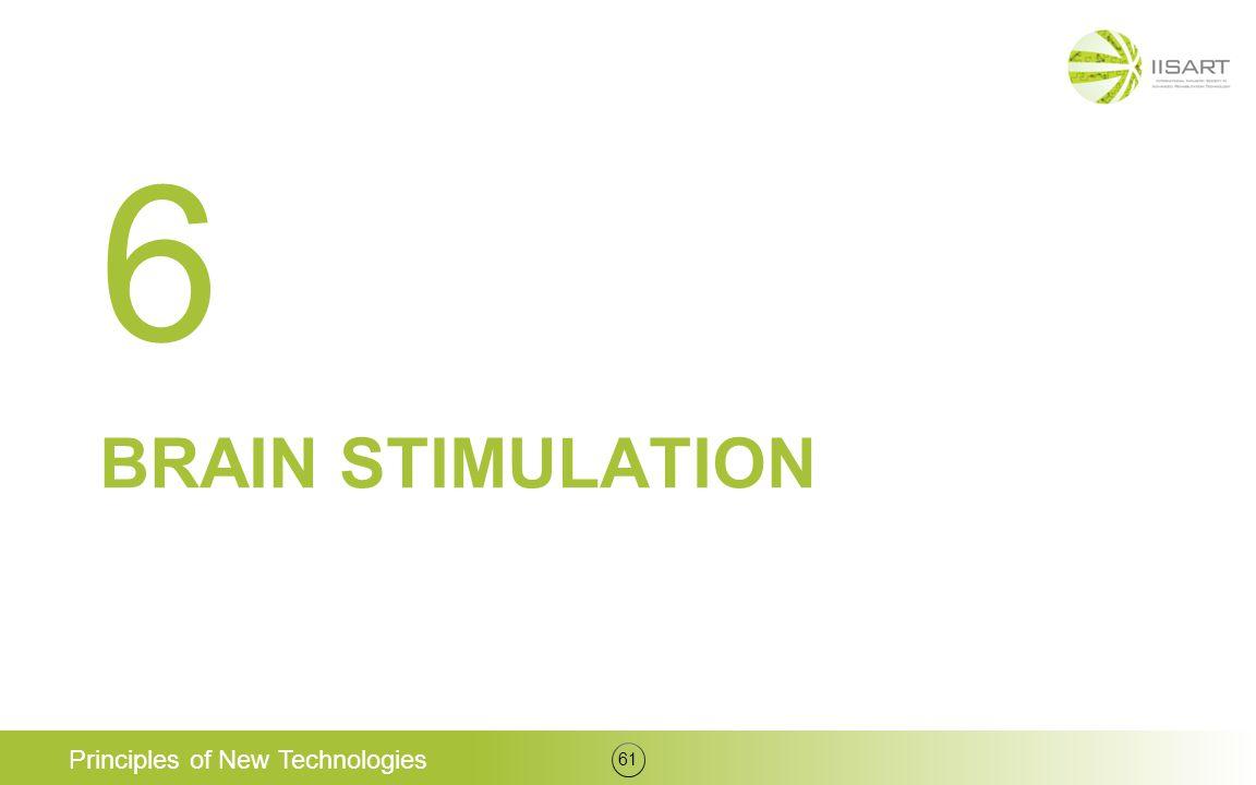 BRAIN STIMULATION Principles of New Technologies 61 6