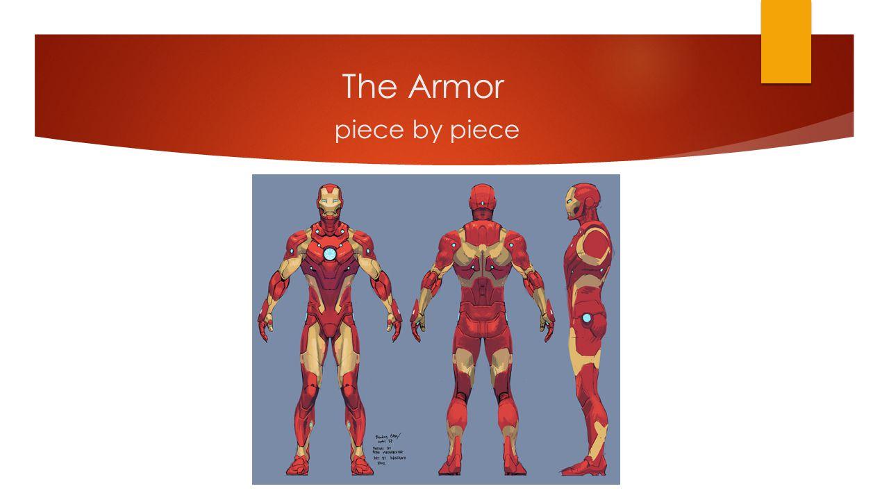 The Armor piece by piece