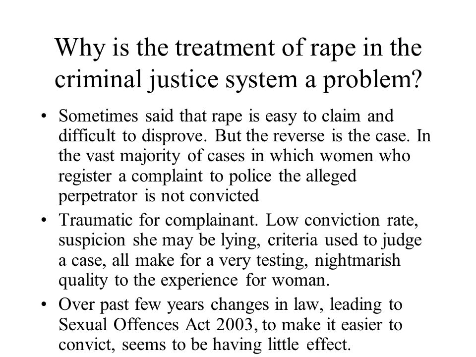 The judge Smart (1989) Feminism and the Power of Law Gives examples of judge's summing up statement.