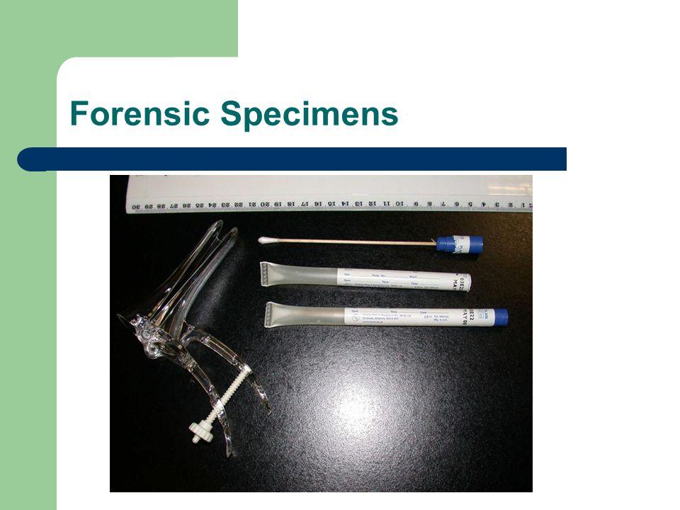 Forensic Specimens