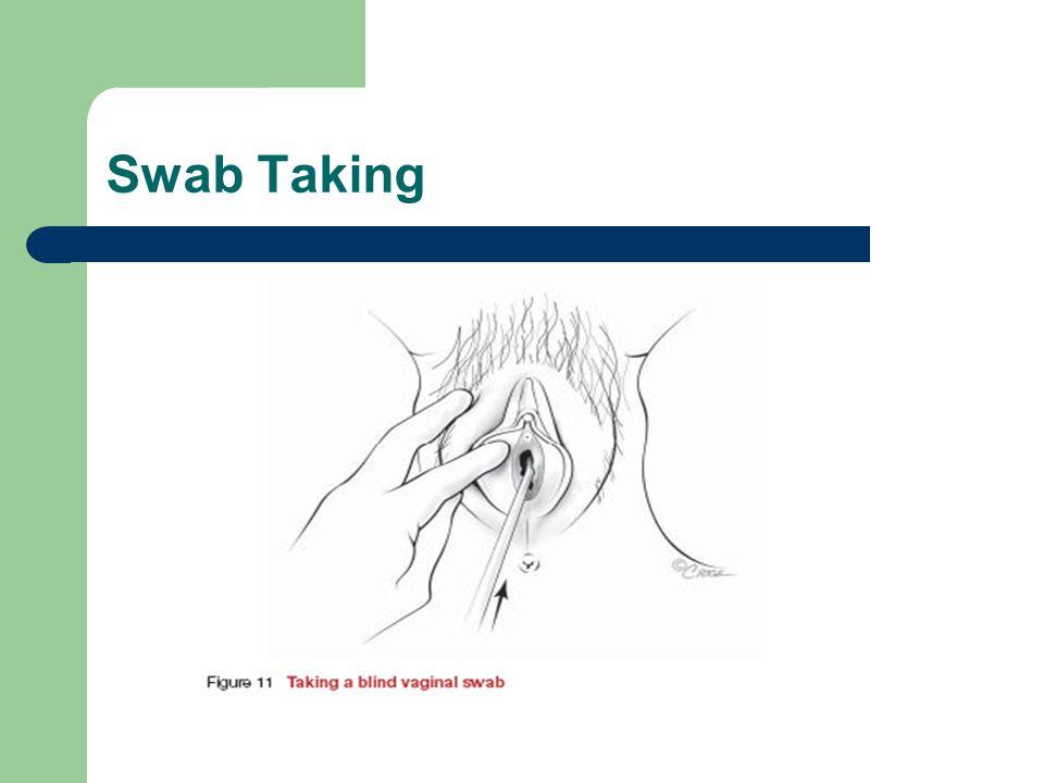 Swab Taking