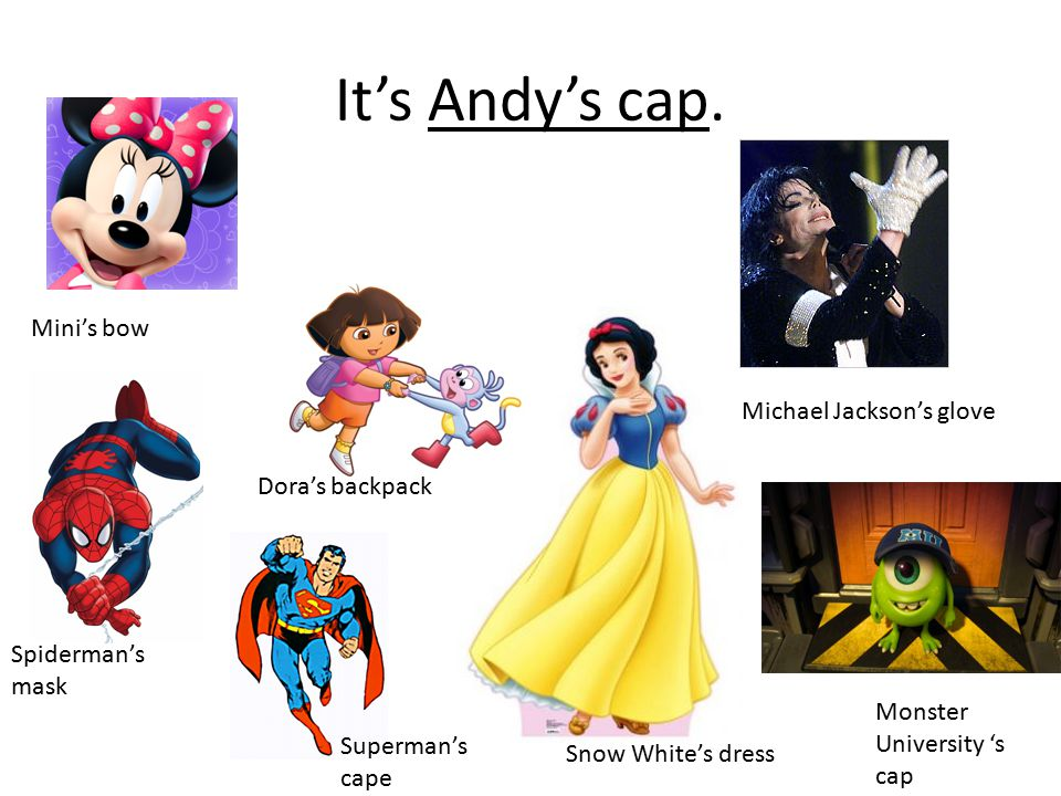 It's Andy's cap.