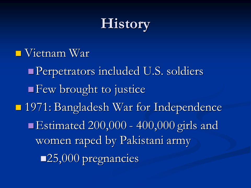 History Vietnam War Vietnam War Perpetrators included U.S.