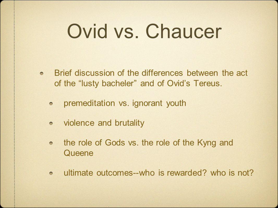 Ovid vs.