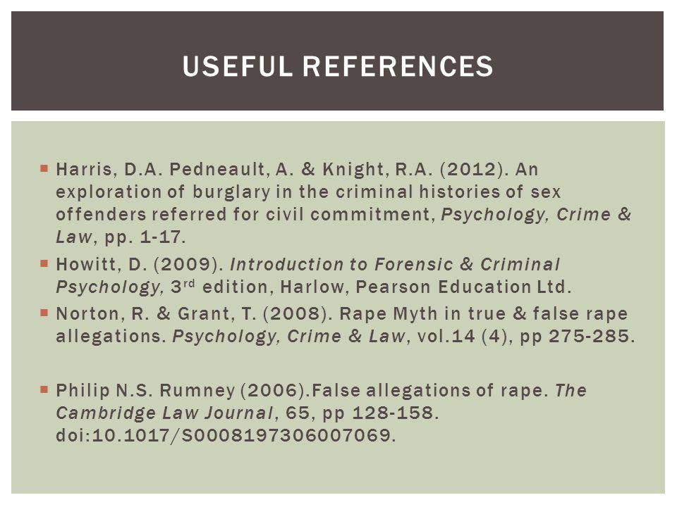  Harris, D.A. Pedneault, A. & Knight, R.A. (2012).