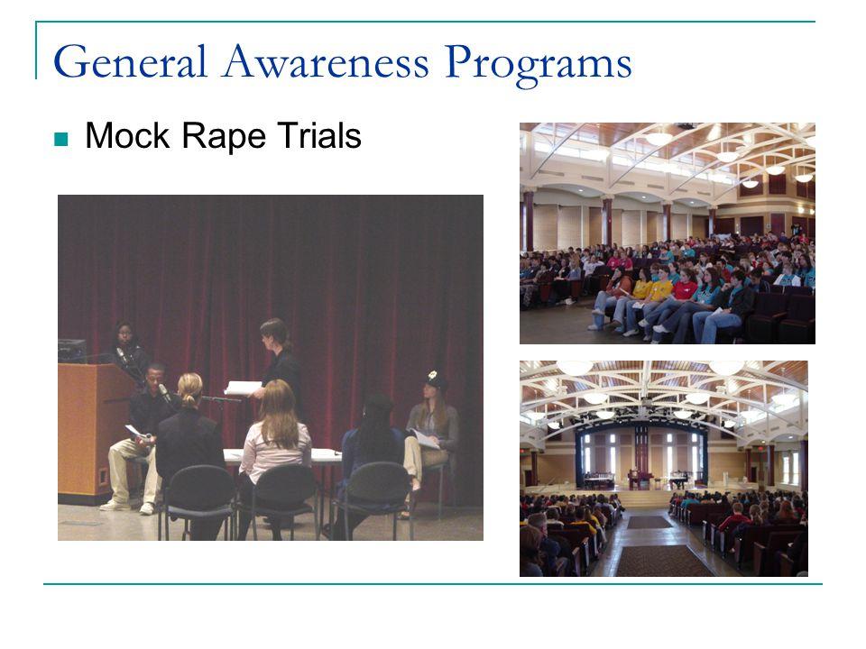 General Awareness Programs Mock Rape Trials